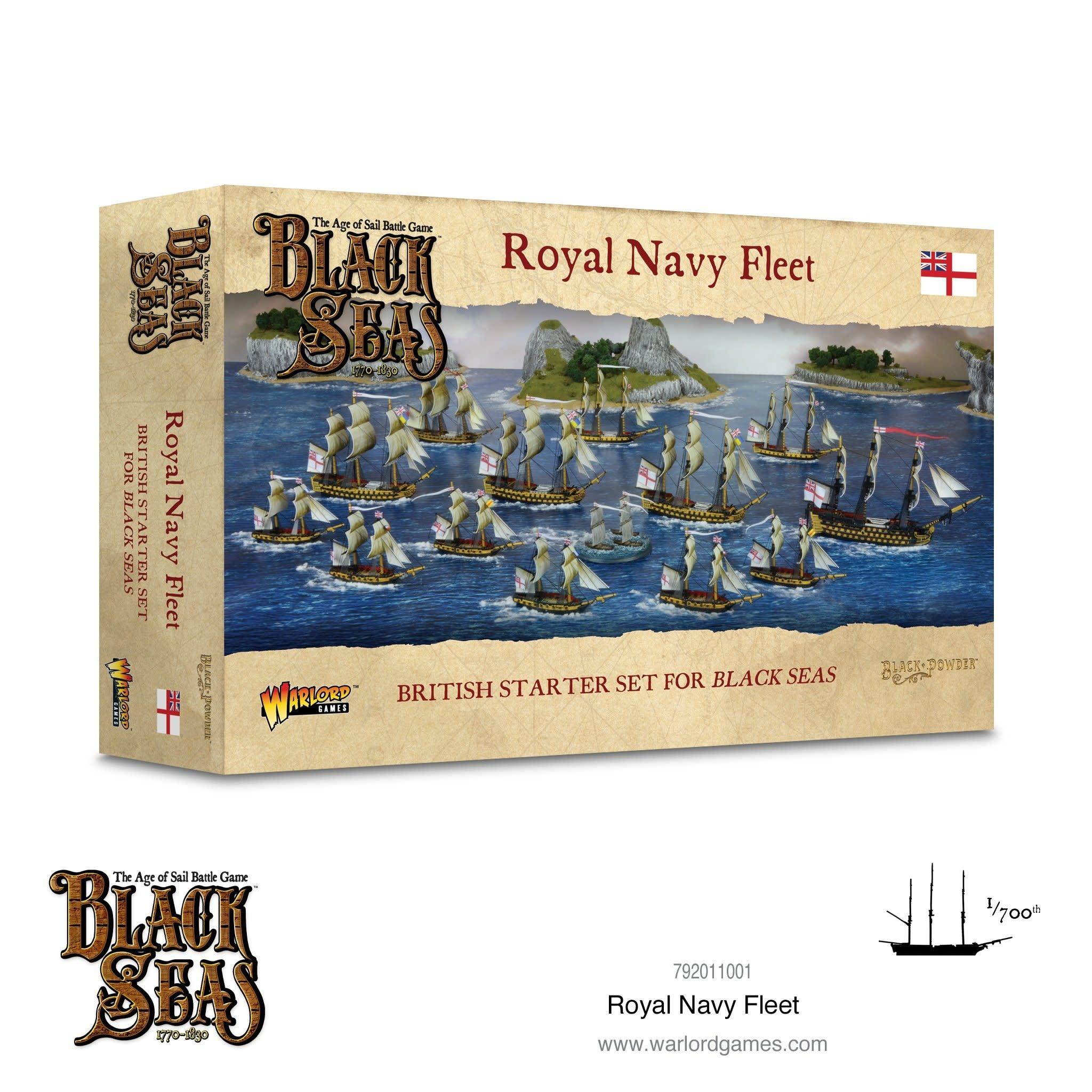 Warlord games Black Seas: Royal Navy Fleet box