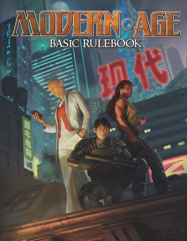 Green Ronin Publishing Modern Age RPG: core book