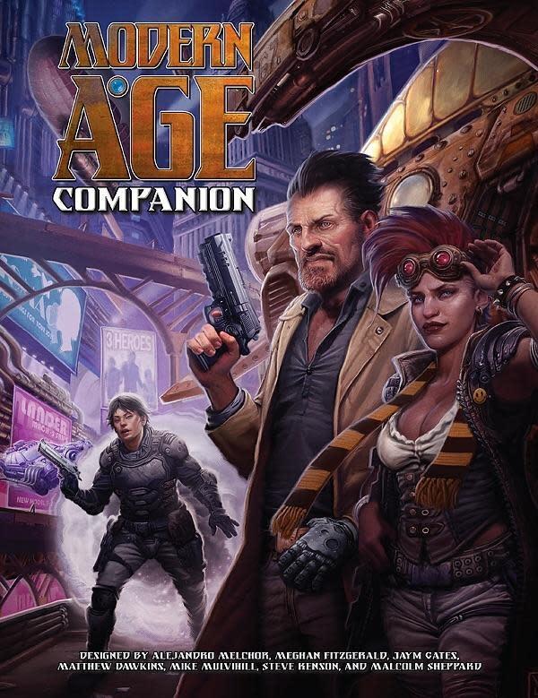 Green Ronin Publishing Modern Age RPG: Companion Book