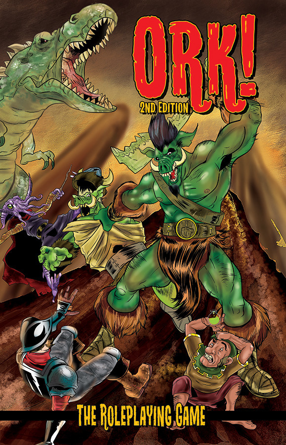 Green Ronin Publishing Ork! The Roleplaying Game: 2nd Edition