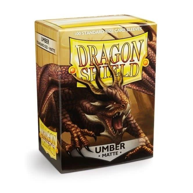 Arcane Tinmen Dragon Shields: (100) Matte, Umber