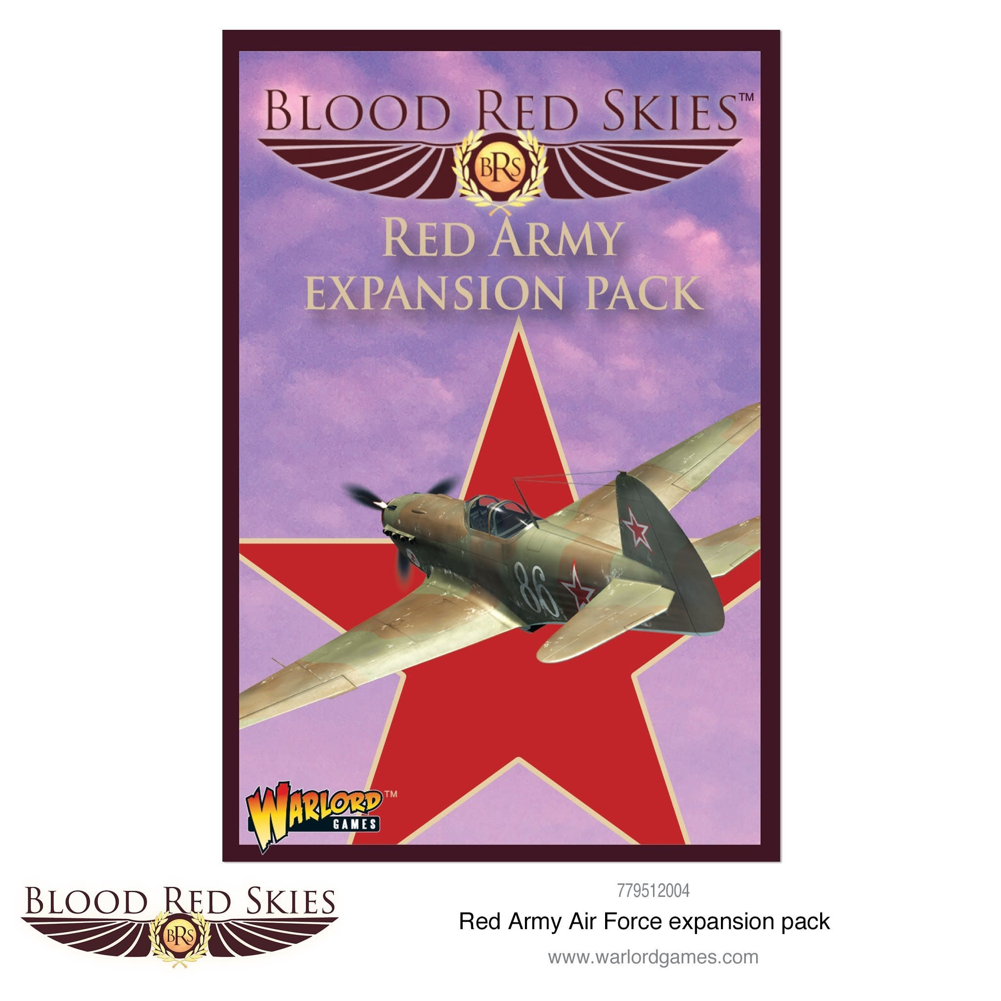 Warlord games Blood Red Skies: Soviet, Red Army Air Force Pack