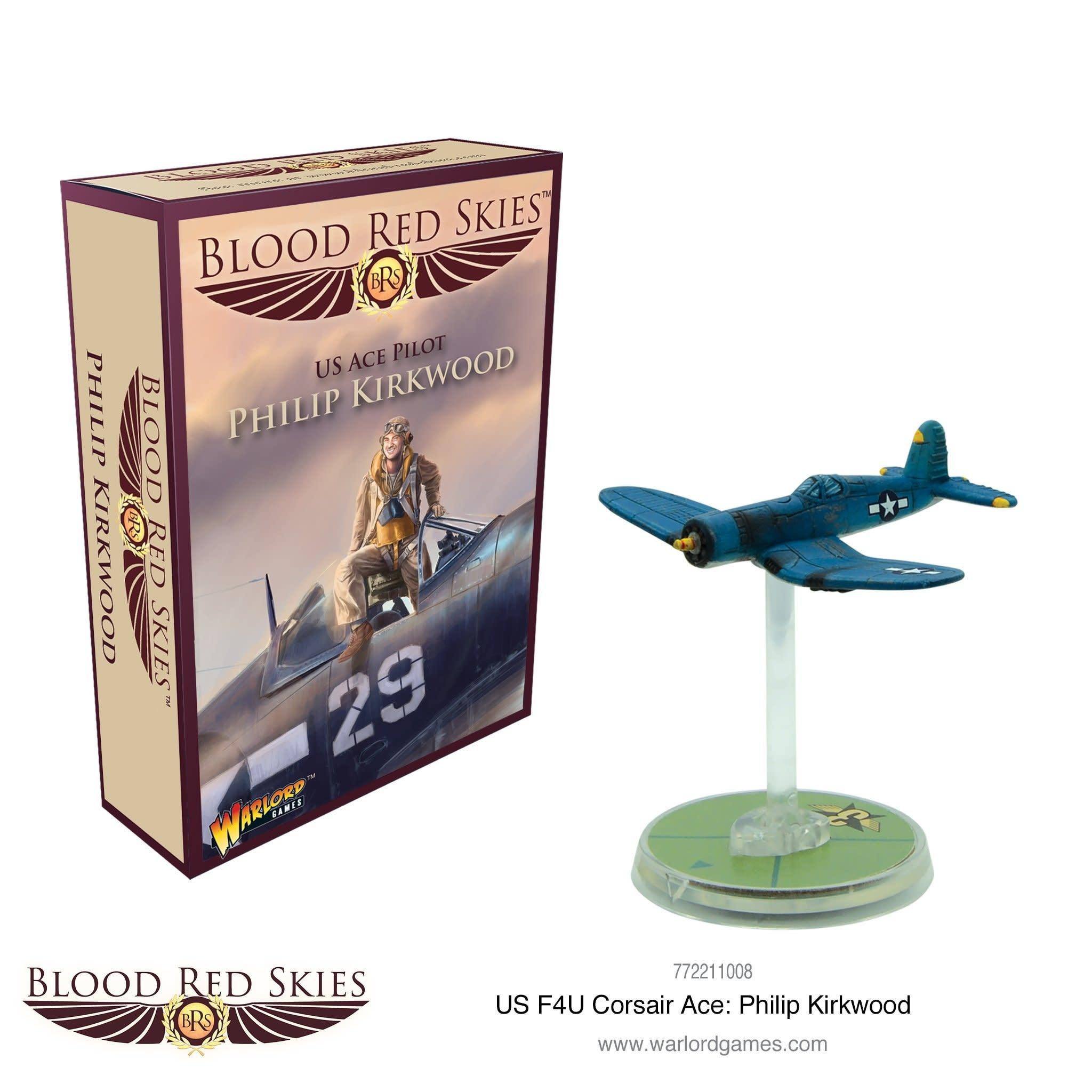 Warlord games Blood Red Skies: American, Ace Pilot Philip Kirkwood