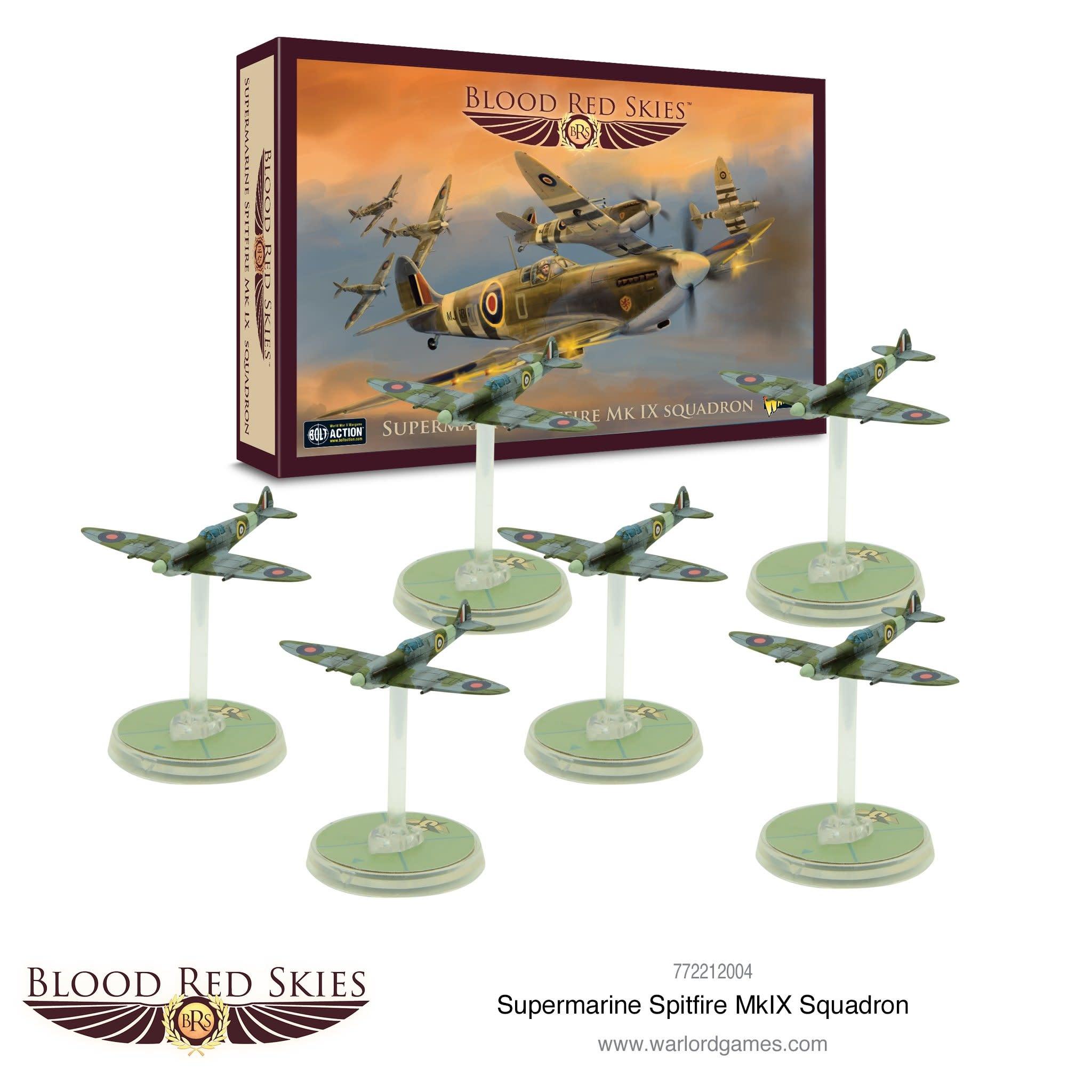 Warlord games Blood Red Skies: British, Supermarine Spitfire Mk. II