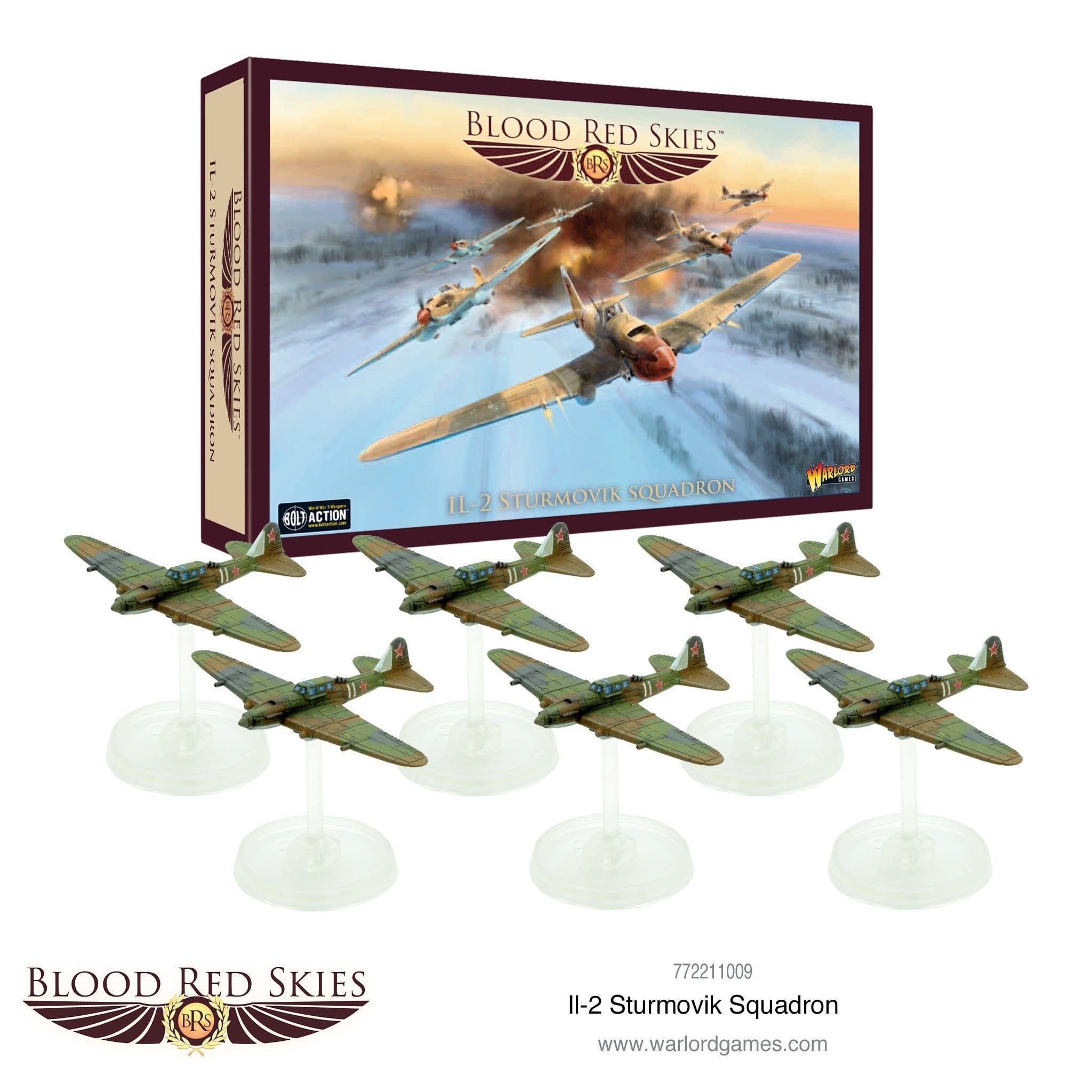 Warlord games Blood Red Skies: Soviet, IL-2 Sturmovik Squadron