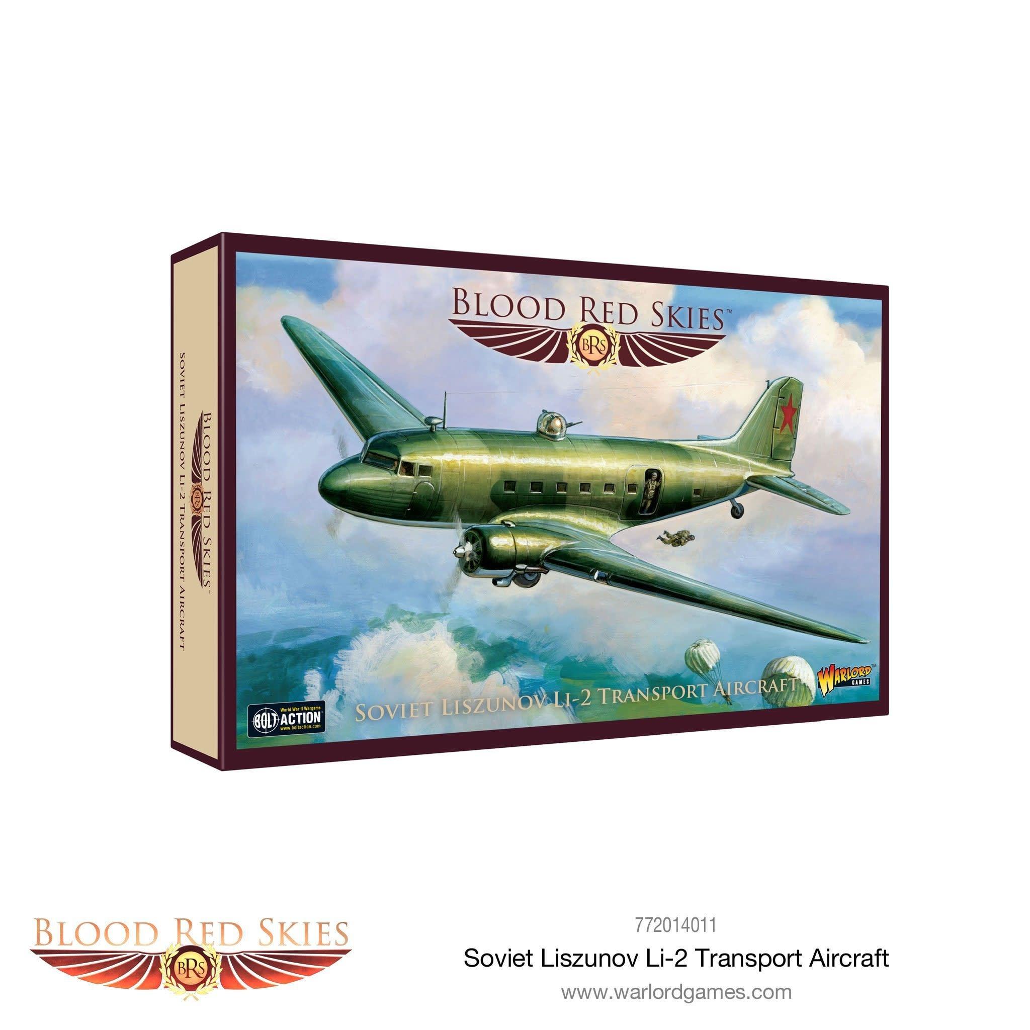 Warlord games Blood Red Skies: Soviet Liszunov Li-2 Transport Aircraft