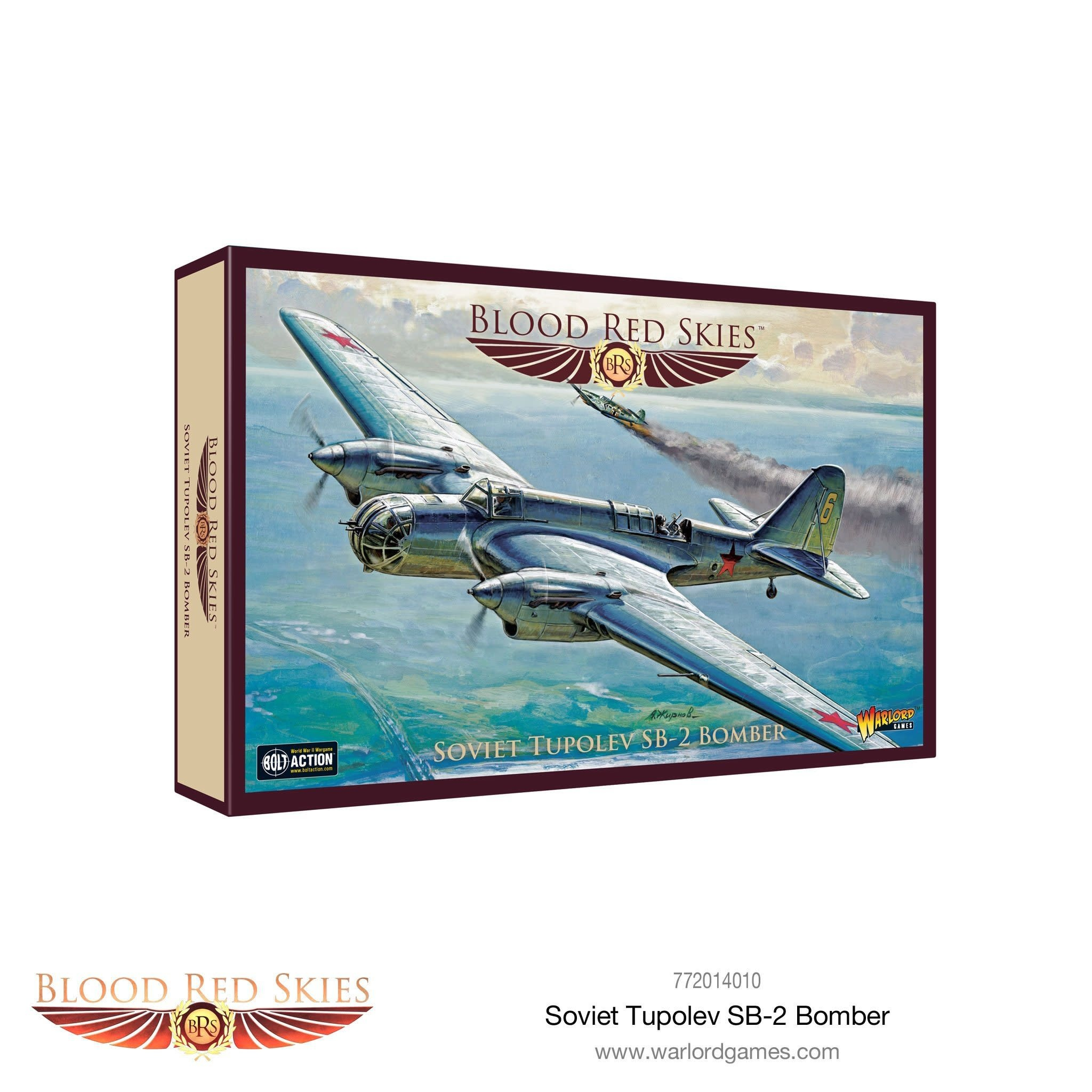 Warlord games Blood Red Skies: Soviet Tupolev SB-2 Bomber
