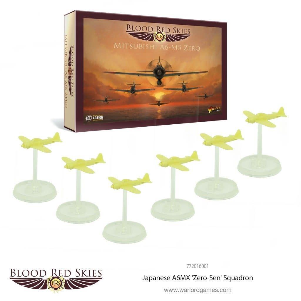 Warlord games Blood Red Skies: Mitsubishi A6-M5 Zero