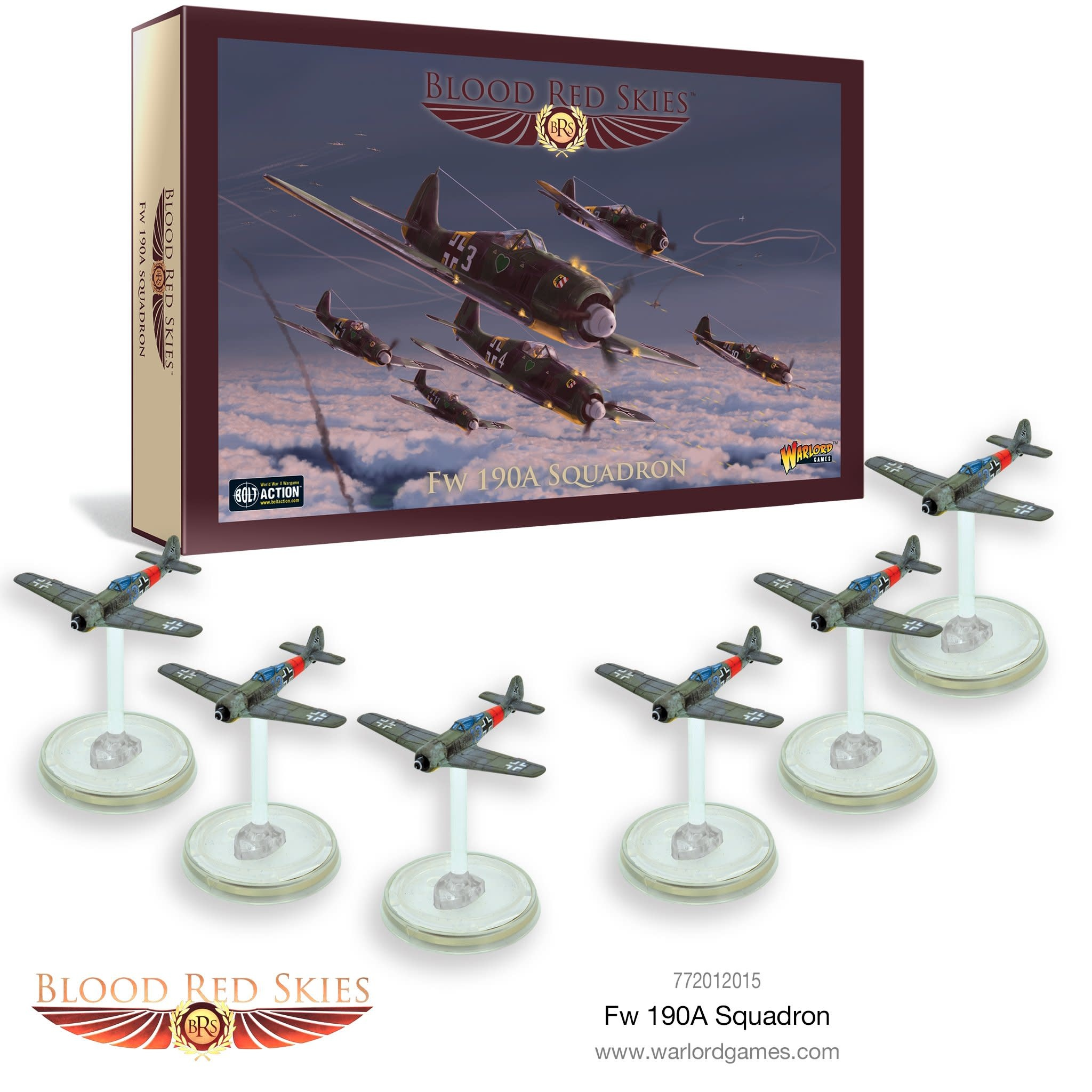 Warlord games Blood Red Skies: Fw 190A Squadron