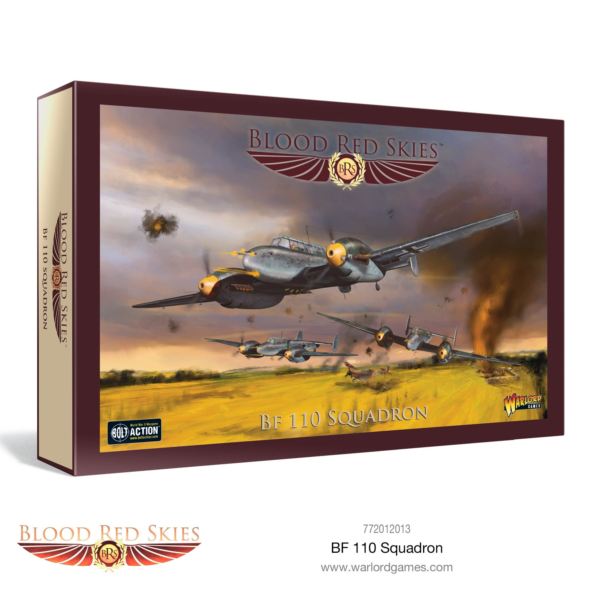 Warlord games Blood Red Skies: Bf 110 Squadron