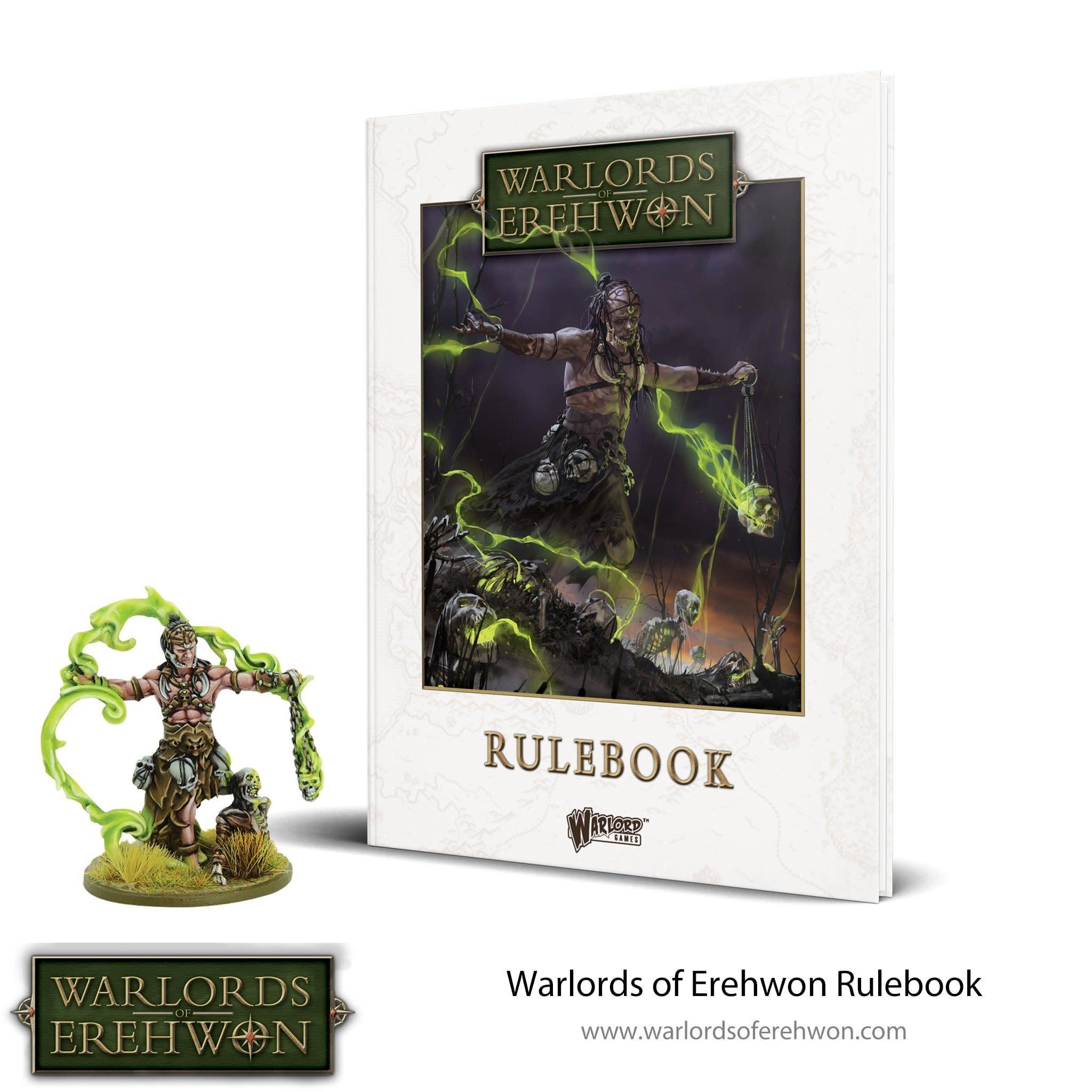Warlord games Warlords of Erehwon: Rulebook