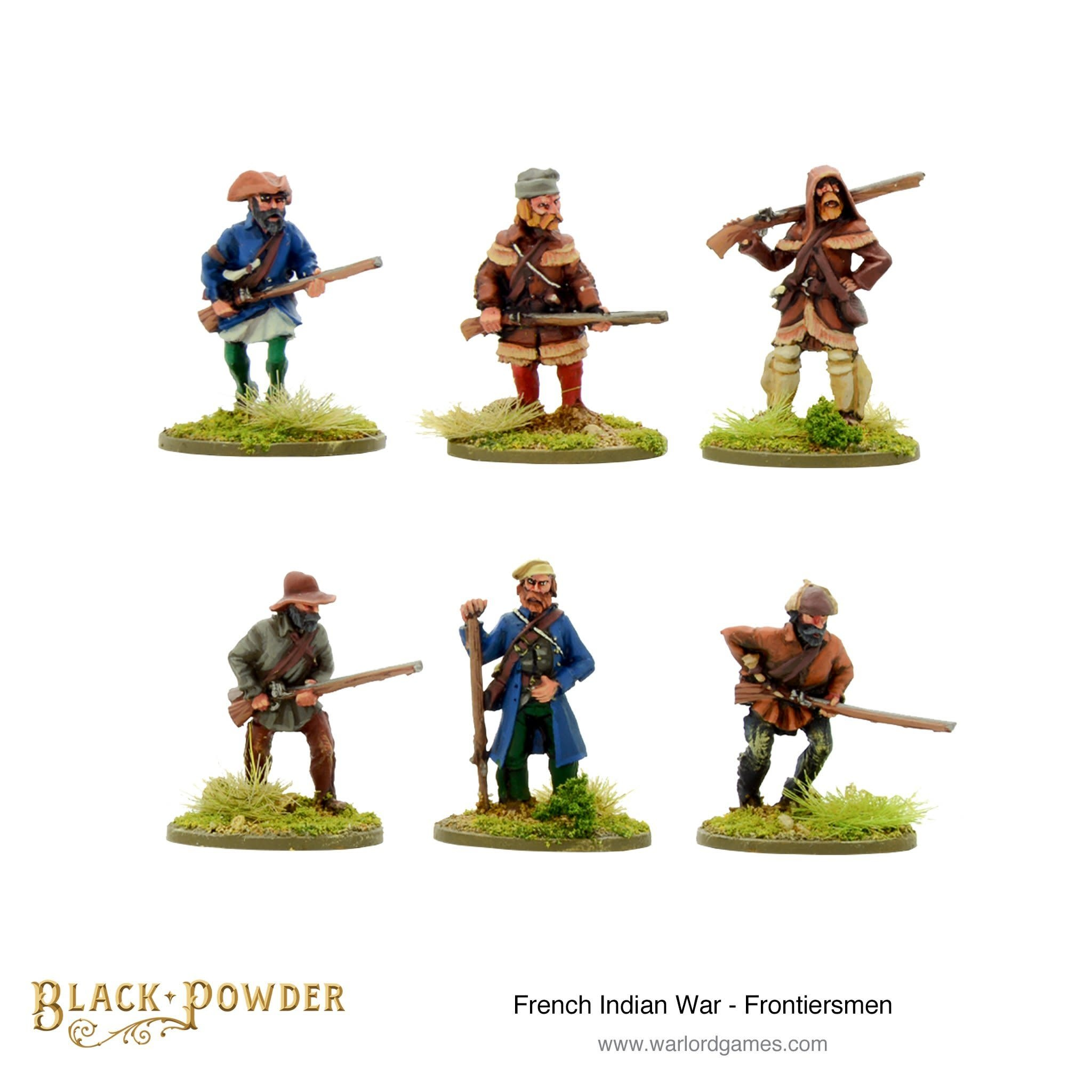 Warlord games Black Powder: FIW Frontiersmen