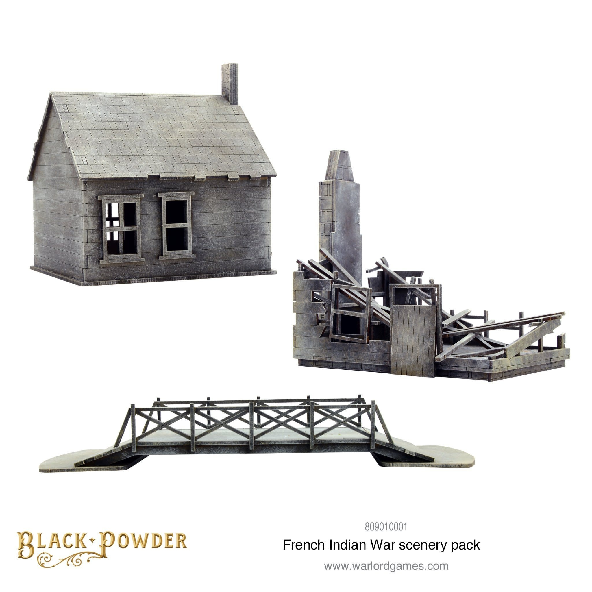 Warlord games Black Powder: French Indian War Scenery Pack