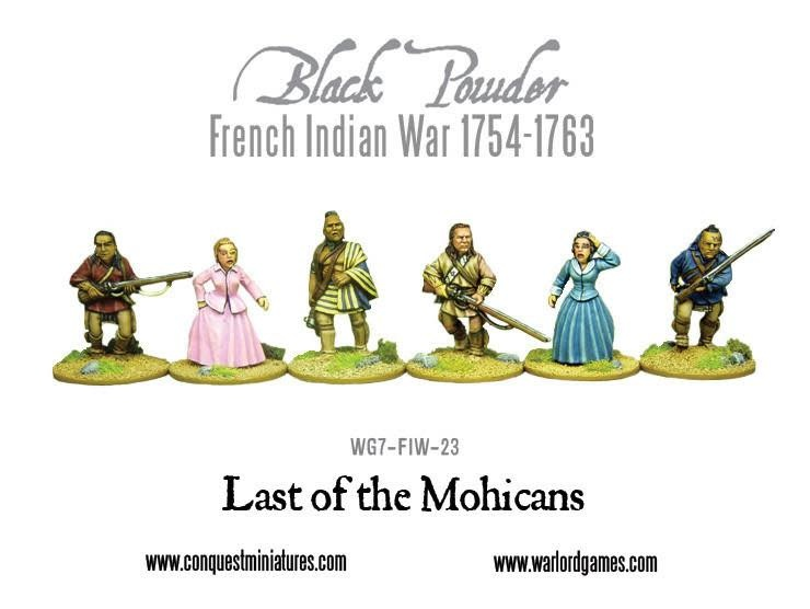 Warlord games Black Powder: Last of the Mohicans