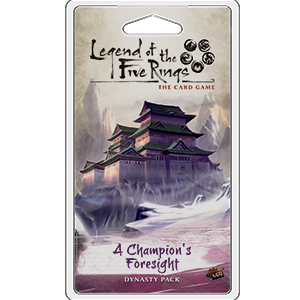 Fantasy Flight Legend of the Five Rings LCG:  A Champion's Foresight