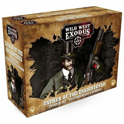 Warcradle Wild West Exodus: Father of the Enlightened Starter Set