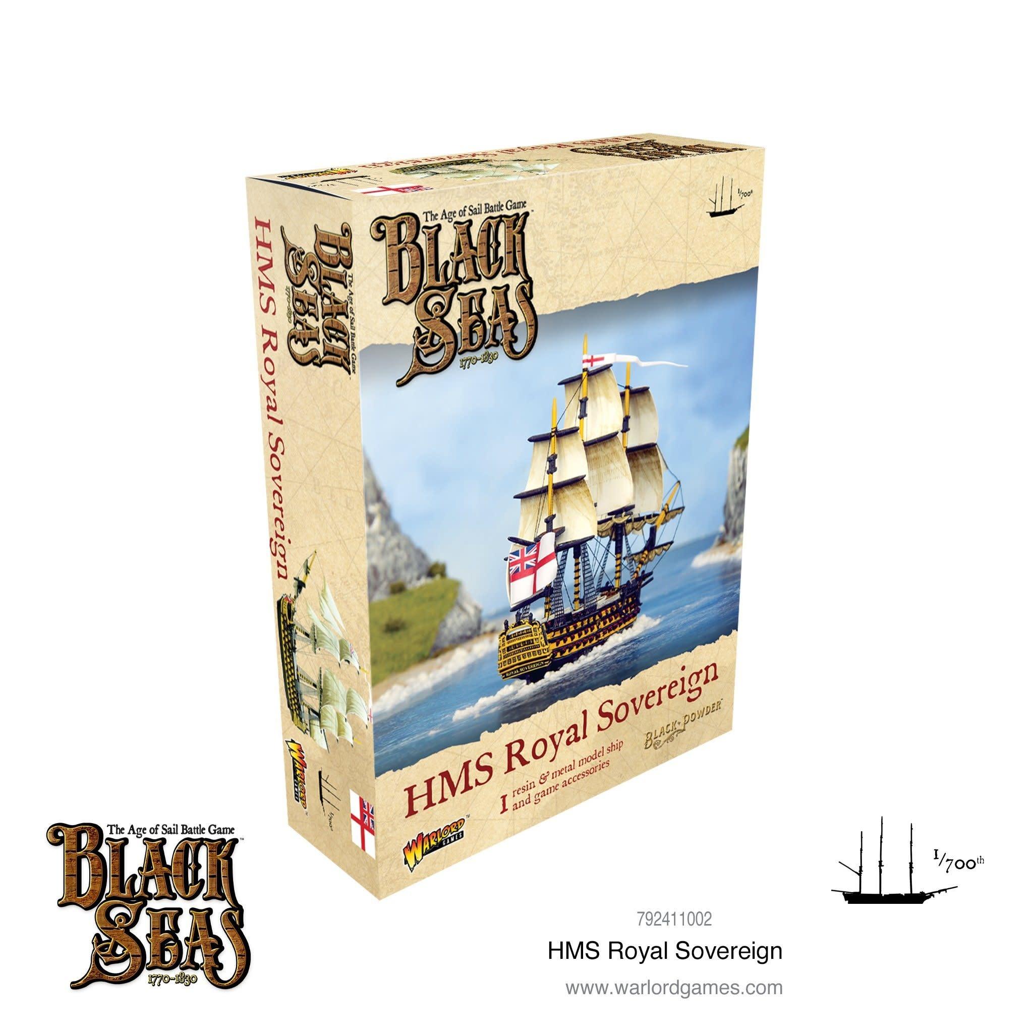 Warlord games Black Seas: HMS Royal Sovereign