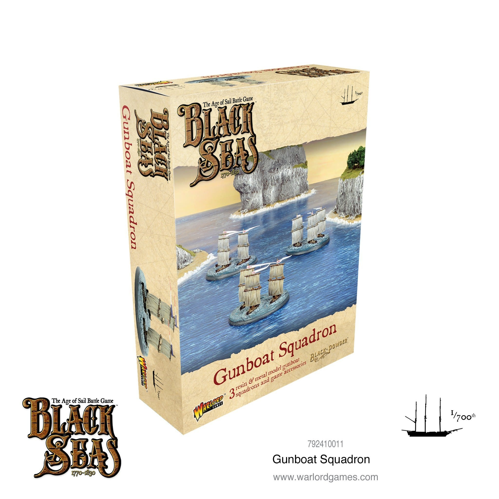 Warlord games Black Seas: Gunboat Squadron