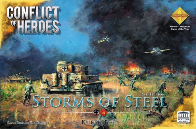 Academy games Conflict of Heroes: Storms of Steel Kursk