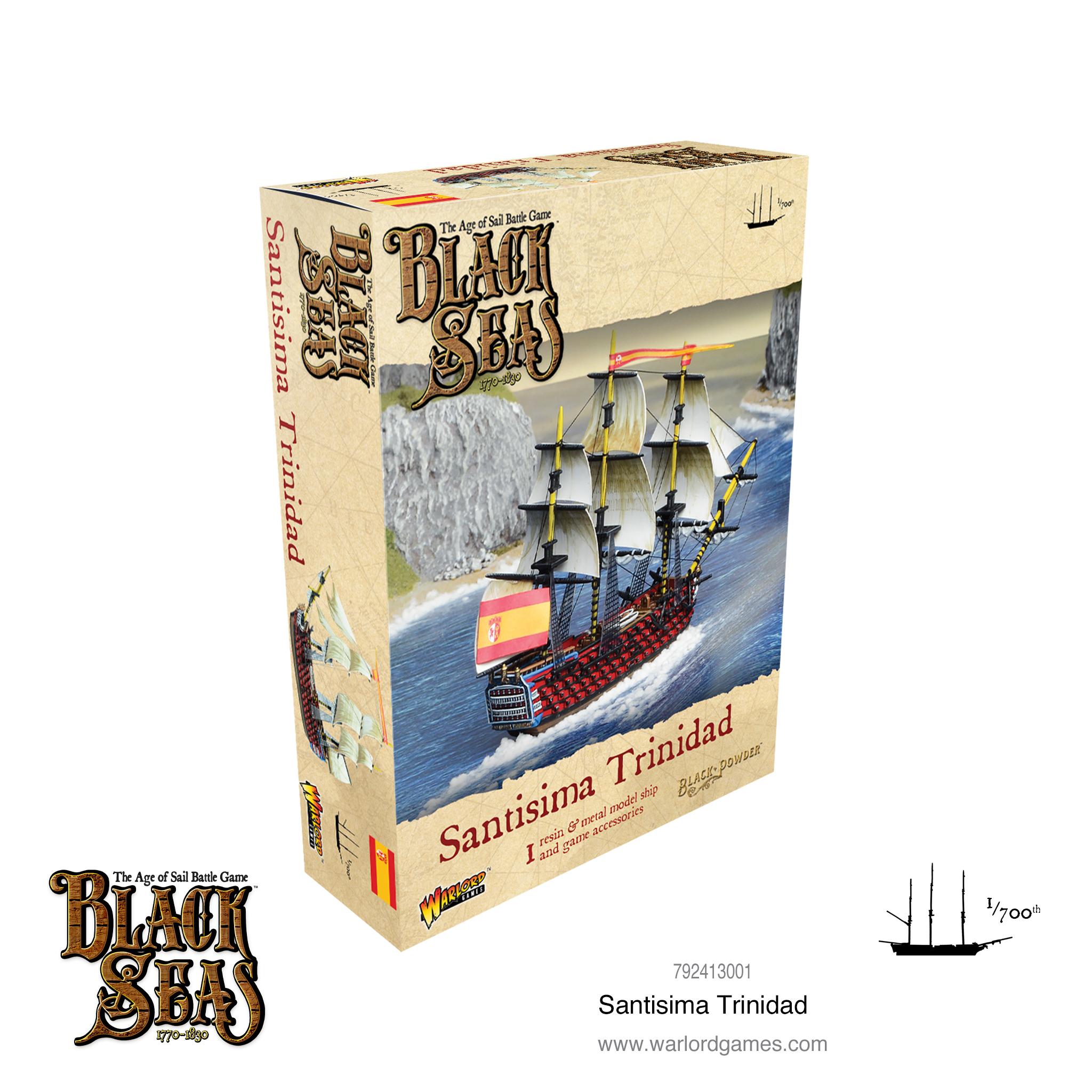 Warlord games Black Seas: Santisima Trinidad