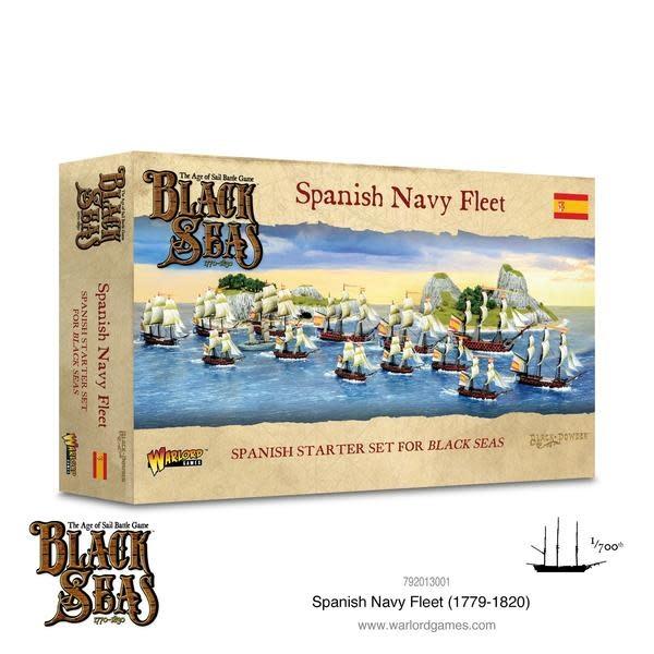 Warlord games Black Seas: Spanish Navy fleet box