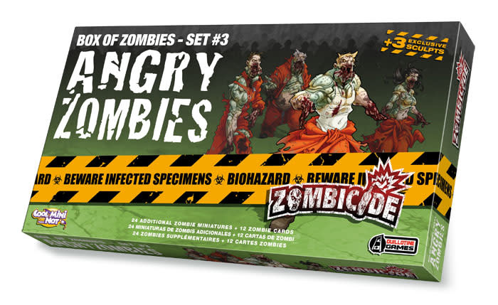 CMON Zombicide: Angry Zombies