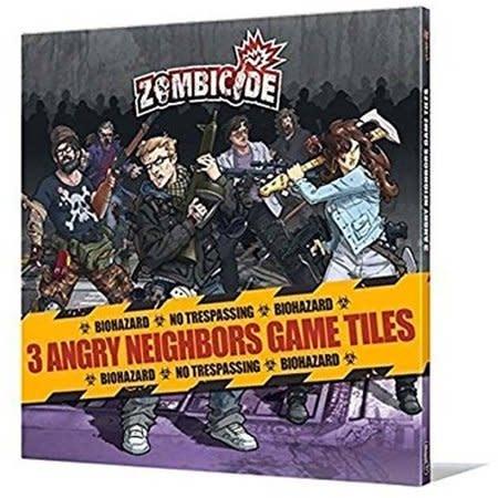 CMON Zombicide: Angry Neighbors Tiles