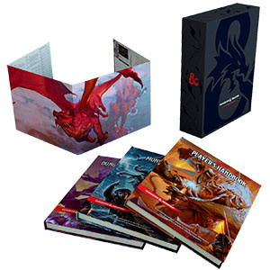 Wizards of the Coast D&D RPG: core Rulebook Gift Set Basic Art