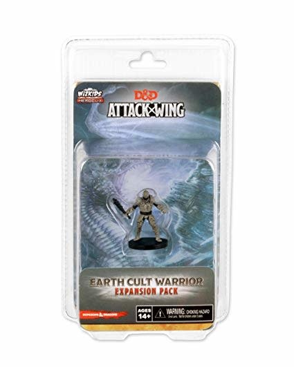 Wizkids D&D Attack Wing: Earth Cult Warrior Expansion Pack
