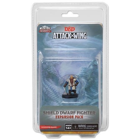 Wizkids D&D Attack Wing: Shield Dwarf Fighter Expansion Pack