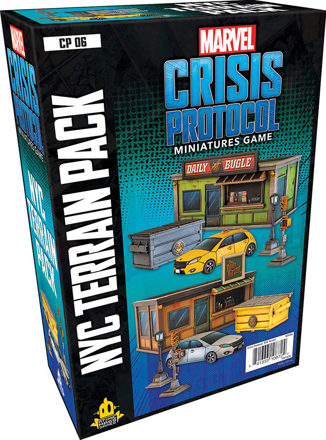 Atomic Mass Games Marvel Crisis Protocol: NYC Terrain Pack