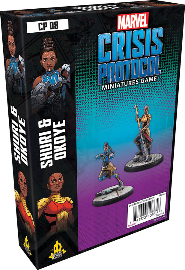 Atomic Mass Games Marvel Crisis Protocol: Shuri & Okoye