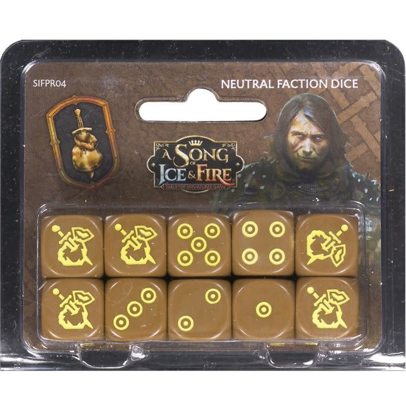 CMON A Song of Ice & Fire: Neutral Faction dice