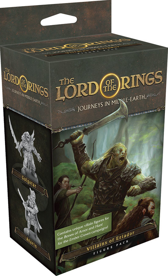 Fantasy Flight Lord of the Rings Journeys in Middle-Earth: Villains of Eriador