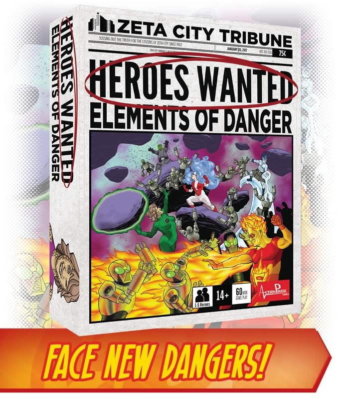 Action phase Heroes Wanted: Elements of Danger