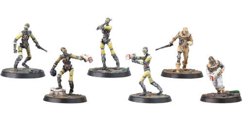 Modiphius Fallout Wasteland Warfare: Institute- Synths