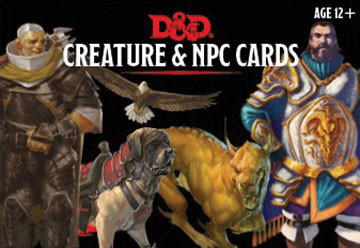 Gale Force Nine D&D RPG Cards: Creatures and NPC Cards Deck