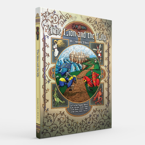 Atlas games Ars Magica RPG:  The Lion and the Lily