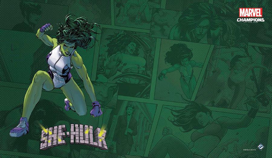 Fantasy Flight Marvel Champions Playmat: She-Hulk