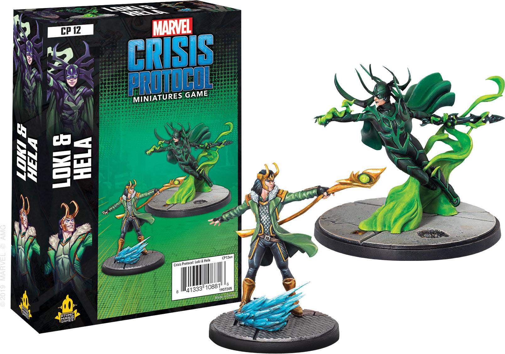 Atomic Mass Games Marvel Crisis Protocol: Loki & Hela