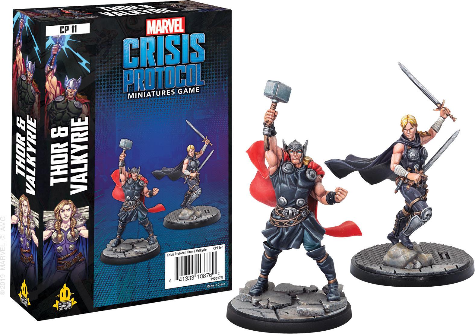 Atomic Mass Games Marvel Crisis Protocol: Thor & Valkyrie