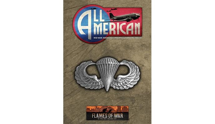 Flames of War Flames of War Book: All American US Airborne & Rangers (US- mid)