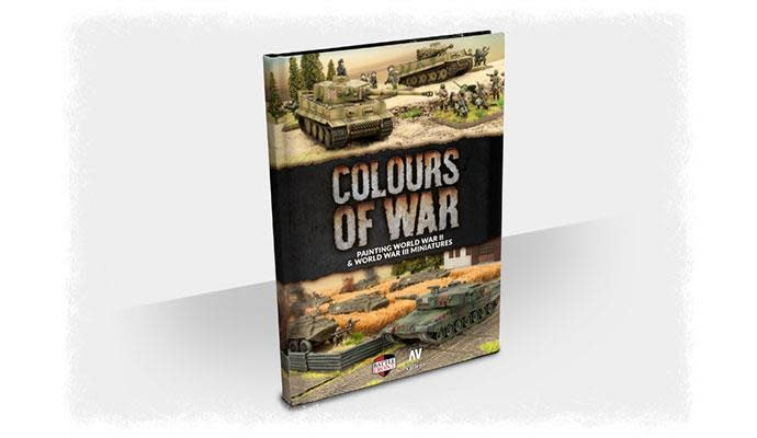 Battlefront Colours of War: hardcover book Paint Manual