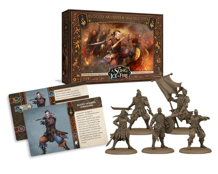 CMON A Song of Ice & Fire: Bloody Mummer Skirmishers