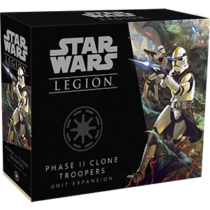 Fantasy Flight Star Wars Legion: Phase II Clone Troopers Unit exp