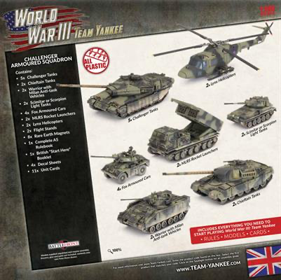 Team yankee Team Yankee: British- Challenger Armoured Squad Starter Force