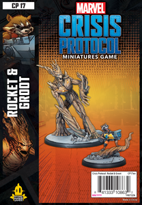 Atomic Mass Games Marvel Crisis Protocol: Rocket & Groot