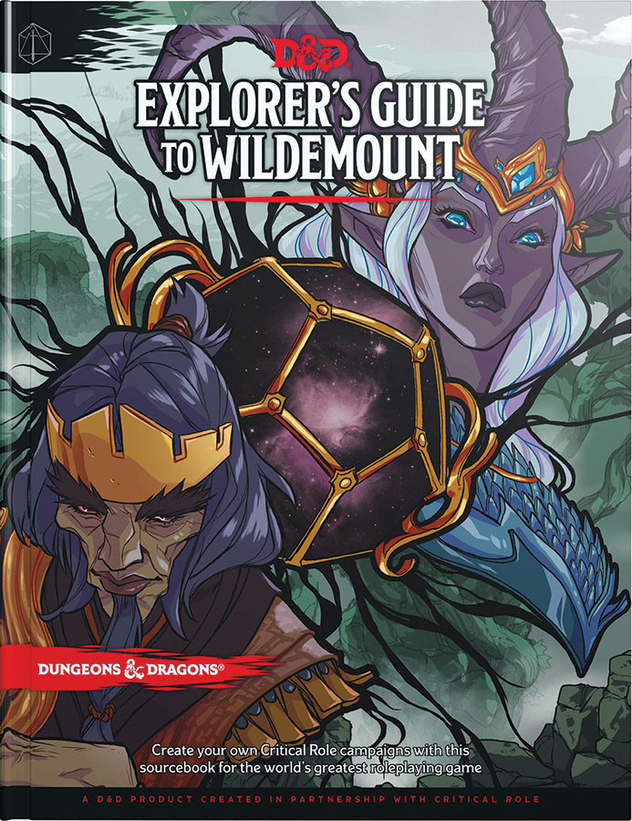 Wizards of the Coast D&D RPG Book: Explorer's Guide to Wildemount