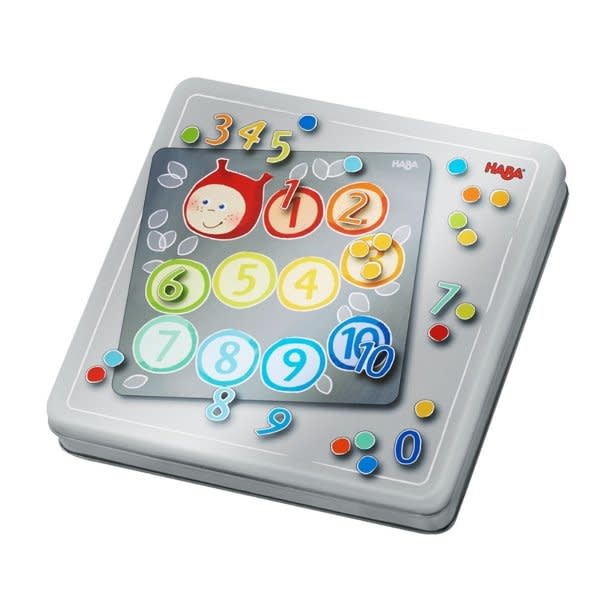 Haba Magnetic game tin - numbers
