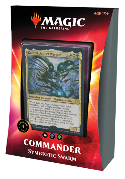 Magic the Gathering Magic the Gathering CCG: Commander Symbiotic Swarm